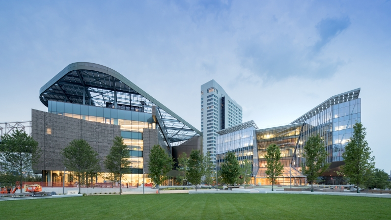 Cornell Tech Campus. Photo by Iwan Baan/NYCEDC.
