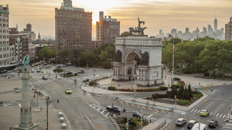 Grand Army Plaza. Photo by Marley White/NYC and Company