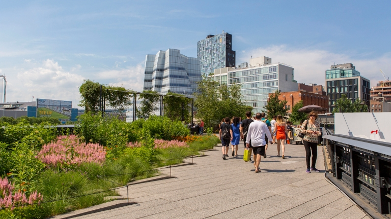 The High Line. Photo by Brittany Petronella/NYC&Company.