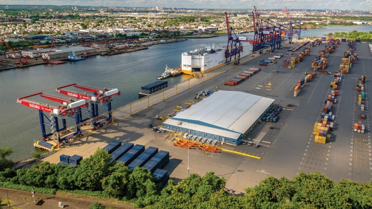 New York Global Container Terminal. Photo by NYCEDC.