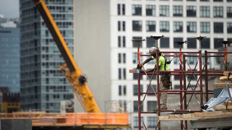 NYC Construction. Photo by Drew Angerer/Getty Images.