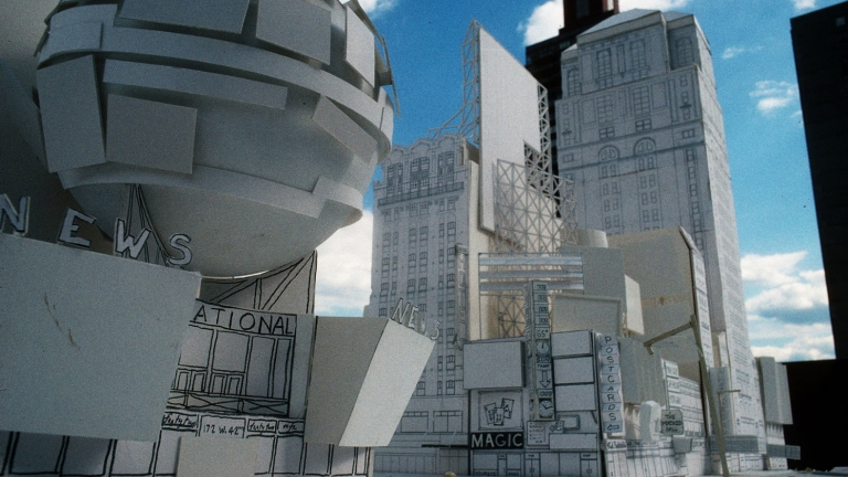 Architectural mock-up of the vision for 42nd Street. Credit: Robert A.M. Stern Architects
