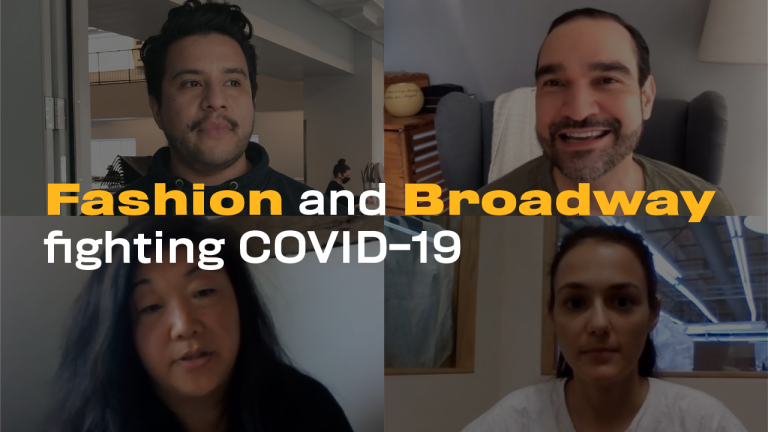 Watch How Broadway and NYC Fashion Collaborated to Fight COVID-19