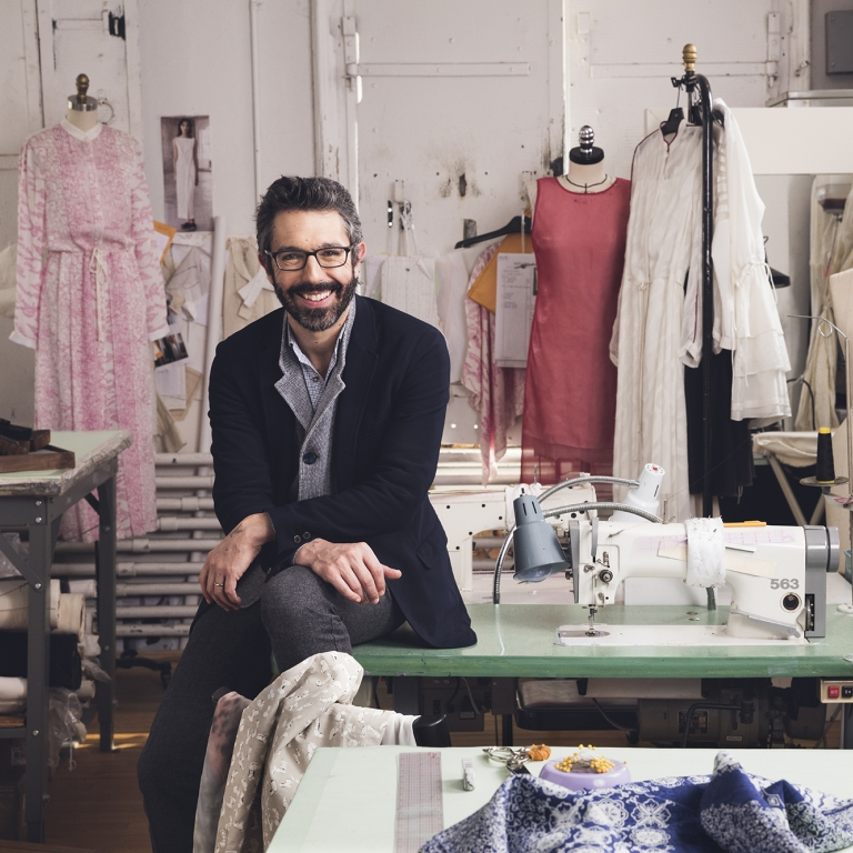 Made in NY: Fashion designer. Photo by Kevin Scanlon