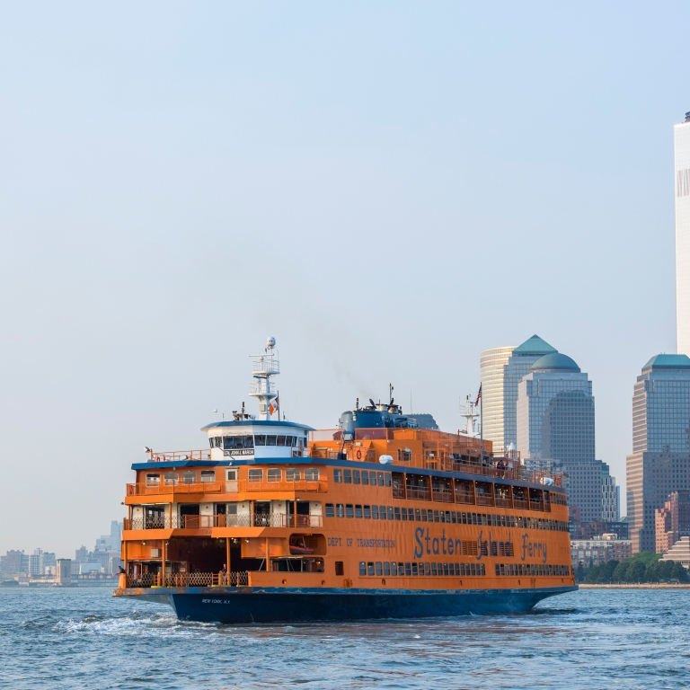 Staten Island Ferry. Photo by Julienne Schaer/ NYC and Company.