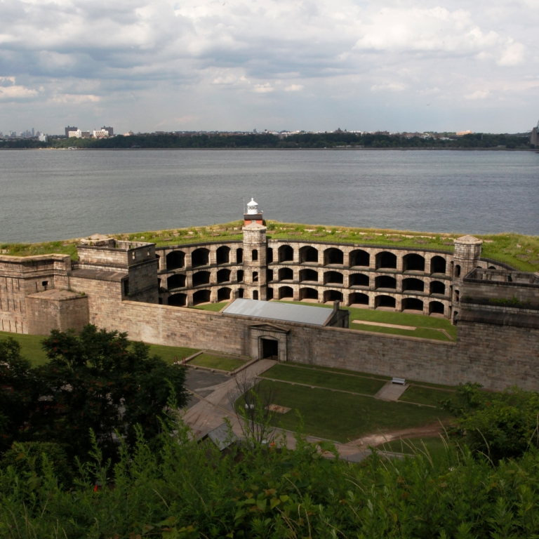 Fort Wadsworth. Photo by Annabel Ruddle/NYC and Company.