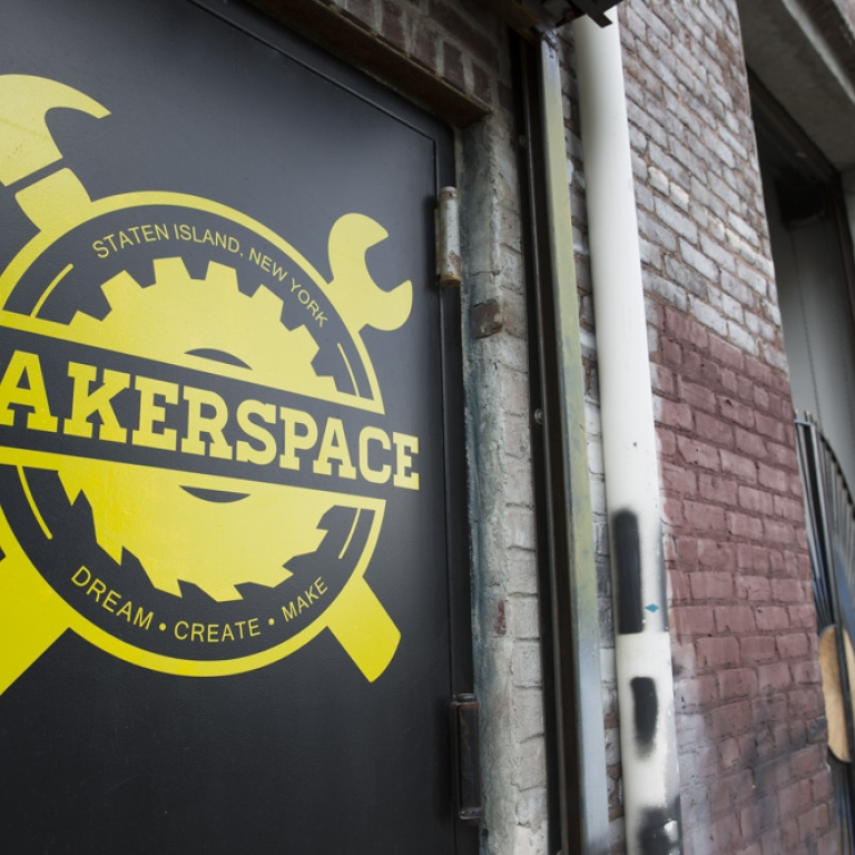 MakerSpace. Photo courtesy of NYCEDC.