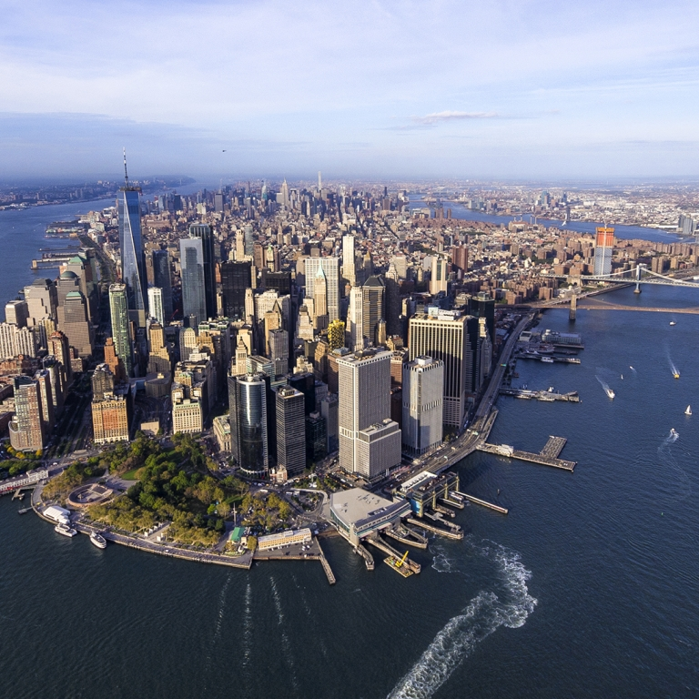Lower Manhattan, Photo by Eloi Omella/Getty Images