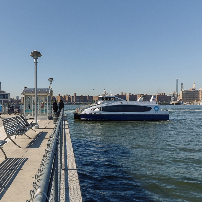 Greenpoint Ferry Landing, Photo by Kreg Holt/NYCEDC