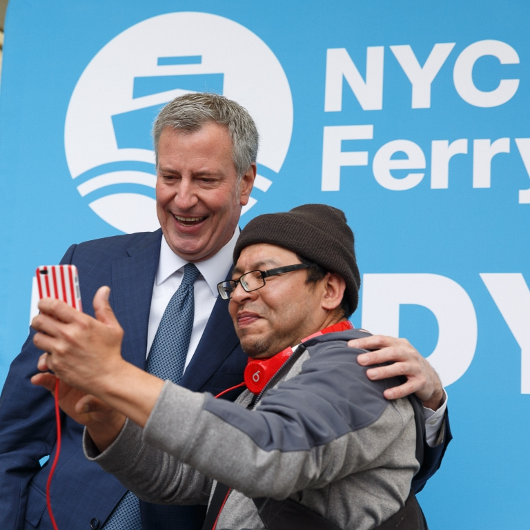 NYC Ferry Launch Day. Photo by Kreg Holt/NYCEDC.