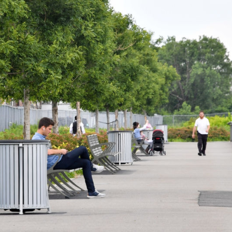 Bush Terminal Park. Photo Courtesy of NYC Parks.