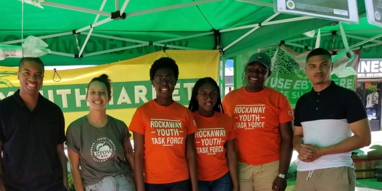 GrowNYC Youthmarket opens in Far Rockaway, allowing residents access to fresh produce