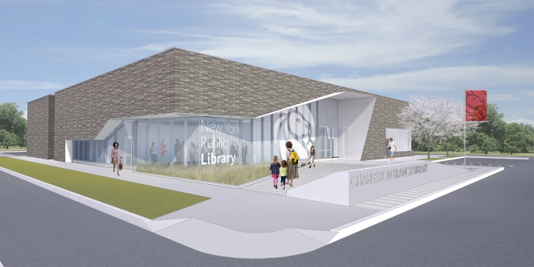 The New York Public Library and NYCEDC Break Ground on New Charleston Branch on Staten Island