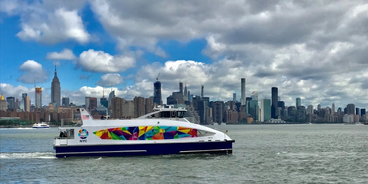 In Celebration of WorldPride, NYC Ferry Introduces the Pride Vessel