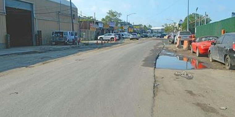 Willets Point Road Paving