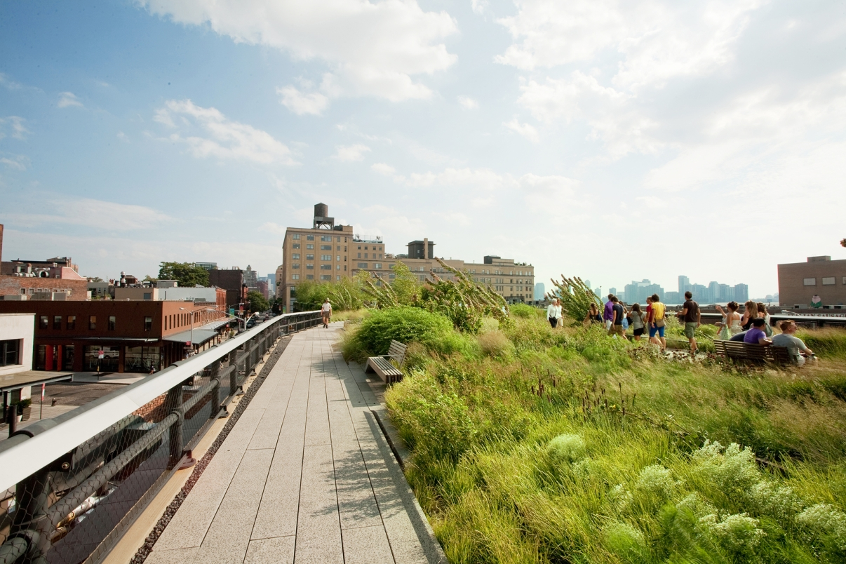 The High Line. Photo by Will Steacy/NYC and Company.