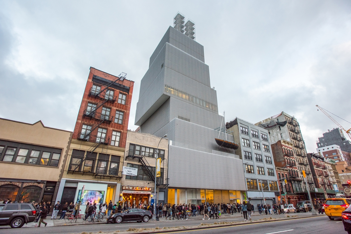 New Museum. Photo by Julienne Schaer/NYC and Company