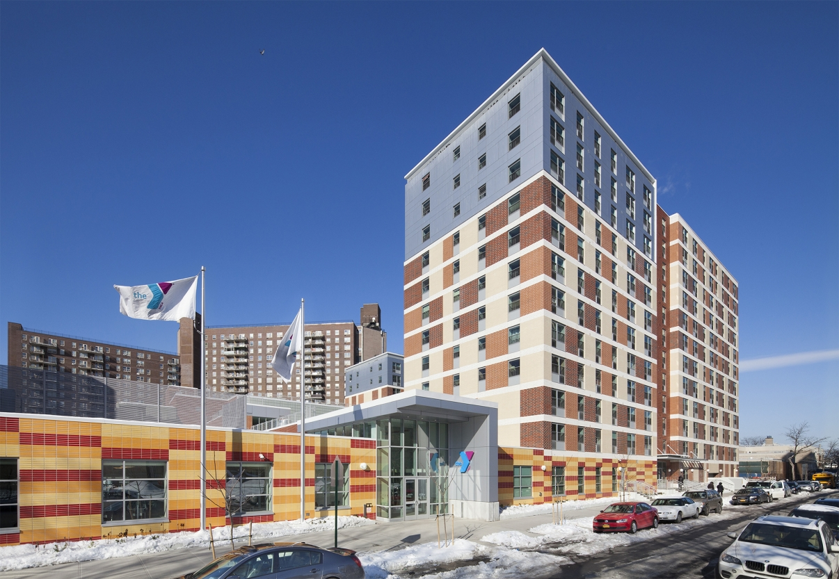 Coney Commons. Photo by Dattner Architects.