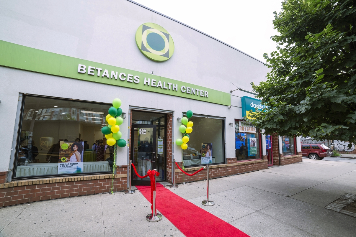 Betances Health Center Opening Day. Photo by NYCEDC.