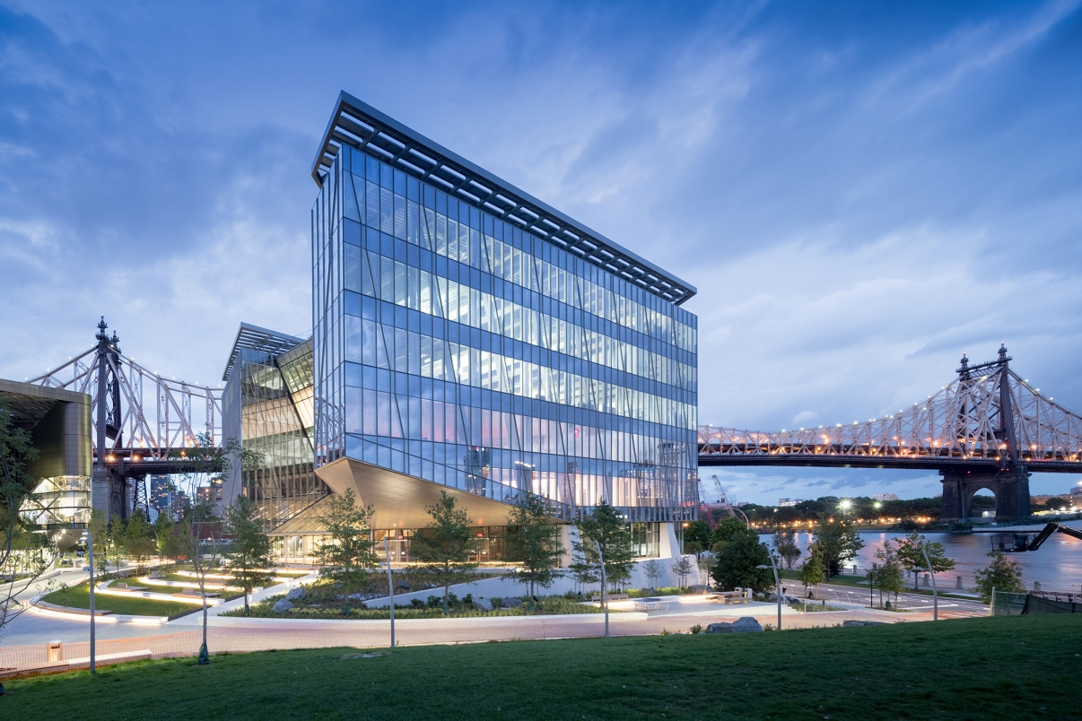 Cornell Tech Campus. Photo by Iwan Baan.