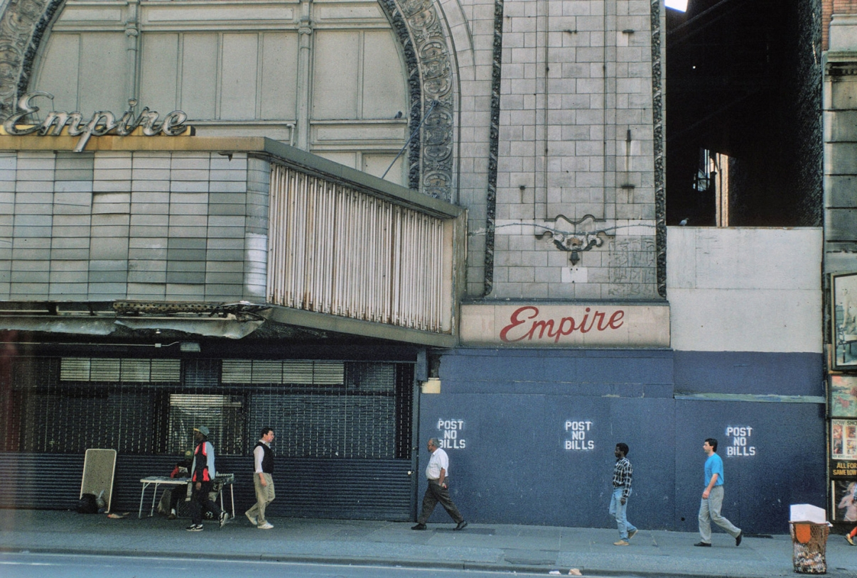 The Empire Theatre, circa 1992. Credit: Peter Aaron/Otto for Robert A.M. Stern Architects