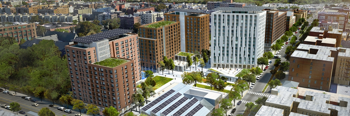 Spofford Redevelopment, Rendering by Gilbane-Development-Company