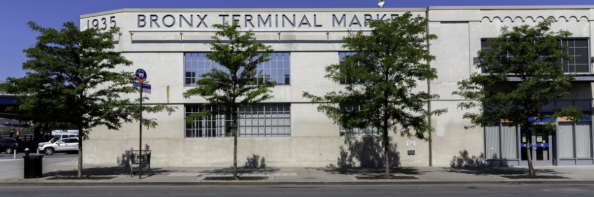 The Bronx Terminal Market. Photo by NYCEDC.